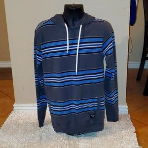 Billabong Stripped Pull-Over Hoodie